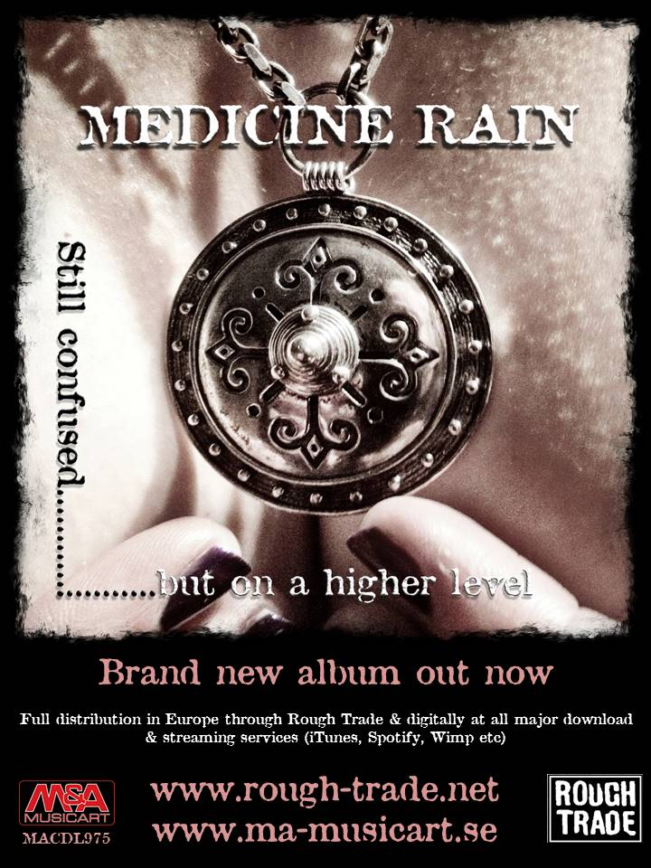 Check out the latest  release from Medicine Rain with  cover  concept by Monokrom Photos